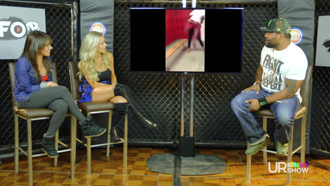 Co-hosts Rampage Jackson & Lindsey Pelas watch the rawest fight videos on the Internet! Featuring guest star Jenn Sterger.